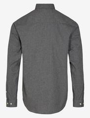 Anerkjendt - AKKONRAD MELANGE SHIRT - basic-hemden - granit grey mel - 1