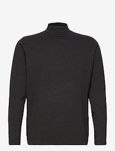 AKKOMET T-SHIRT - basis-t-skjorter - caviar