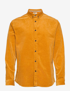 AKKONRAD CORD SHIRT - casual hemden - sunflower