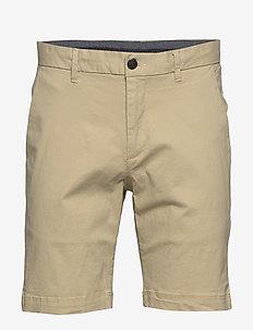 AKHALLI SHORTS - chinos shorts - brown rice