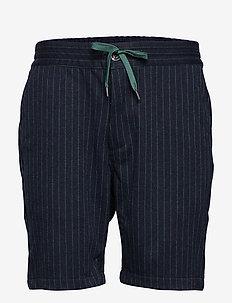 AKSAVA SHORTS - tailored shorts - m. indigo