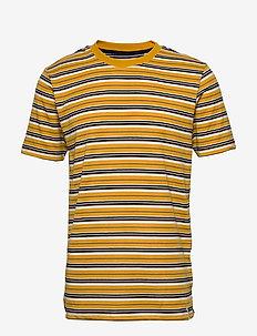 AKROD T-SHIRT - kortermede t-skjorter - inca gold