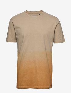 AKROD T-SHIRT - basic t-shirts - inca gold