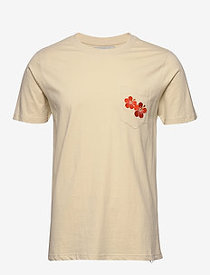 AKROD T-SHIRT - basic t-shirts - brown rice