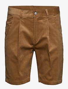 AKCARLO SHORTS - tailored shorts - tannin
