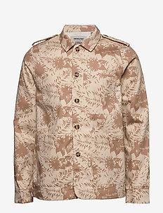 AKLENON JACKET - light jackets - brown rice