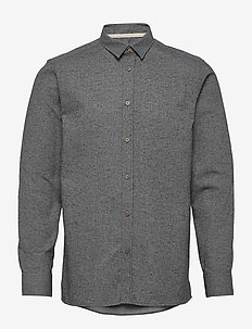 AKLOUIS SHIRT - basic shirts - m granit g.