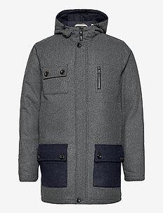 AKTIMO JACKET - wool jackets - m dk. grey