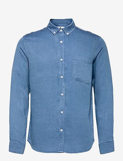 AKKONRAD LS TENSEL - chemises à carreaux - copen blue