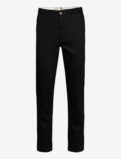 AKJOHN ORGANIC NOOS - pantalons chino - caviar