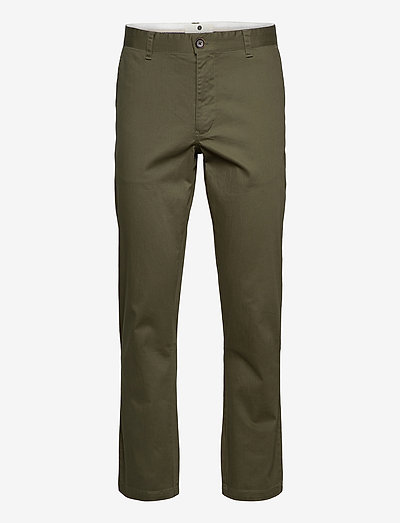 AKJOHN ORGANIC NOOS - pantalons chino - cypress