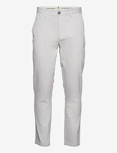 AKJOHN PANTS - NOOS - chinos - glacier gray