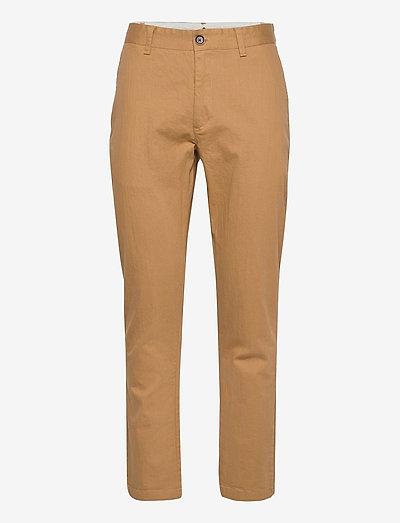 AKJOHN ORGANIC NOOS - pantalons chino - wood thrush