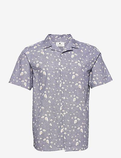 AKLEO SS POPLIN AOP - chemises à carreaux - pine grove