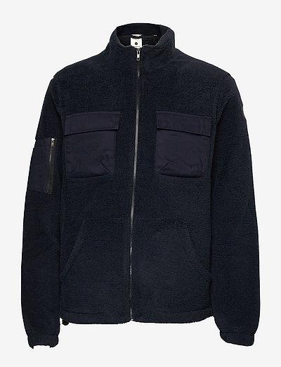 AKBO PILE JACKET - mid layer jackets - sky captain