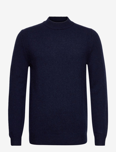 AKRICO LAMBSWOOL KNIT - rundhals - sky captain