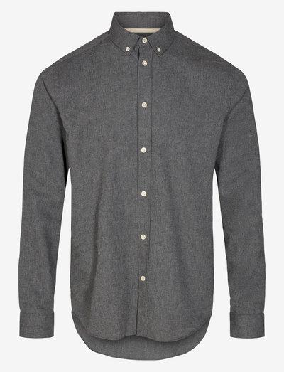 AKKONRAD MELANGE SHIRT - chemises basiques - granit grey mel