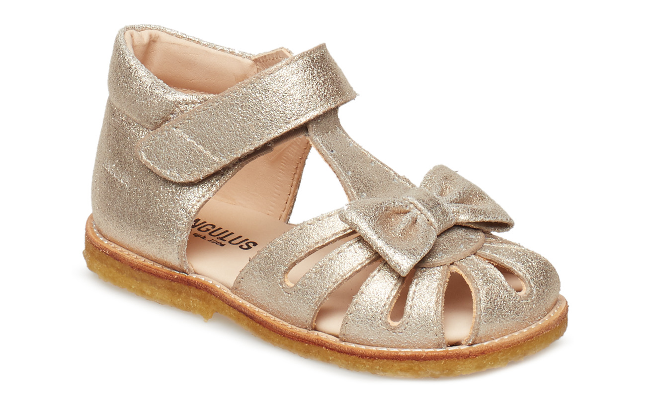 ANGULUS Sandals - flat - closed toe -  - 2424 SILVER GLITTER
