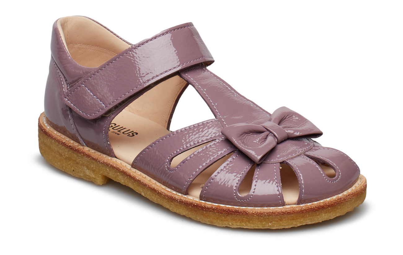 ANGULUS Sandals - flat - 1391 DUSTY FUCHSIA