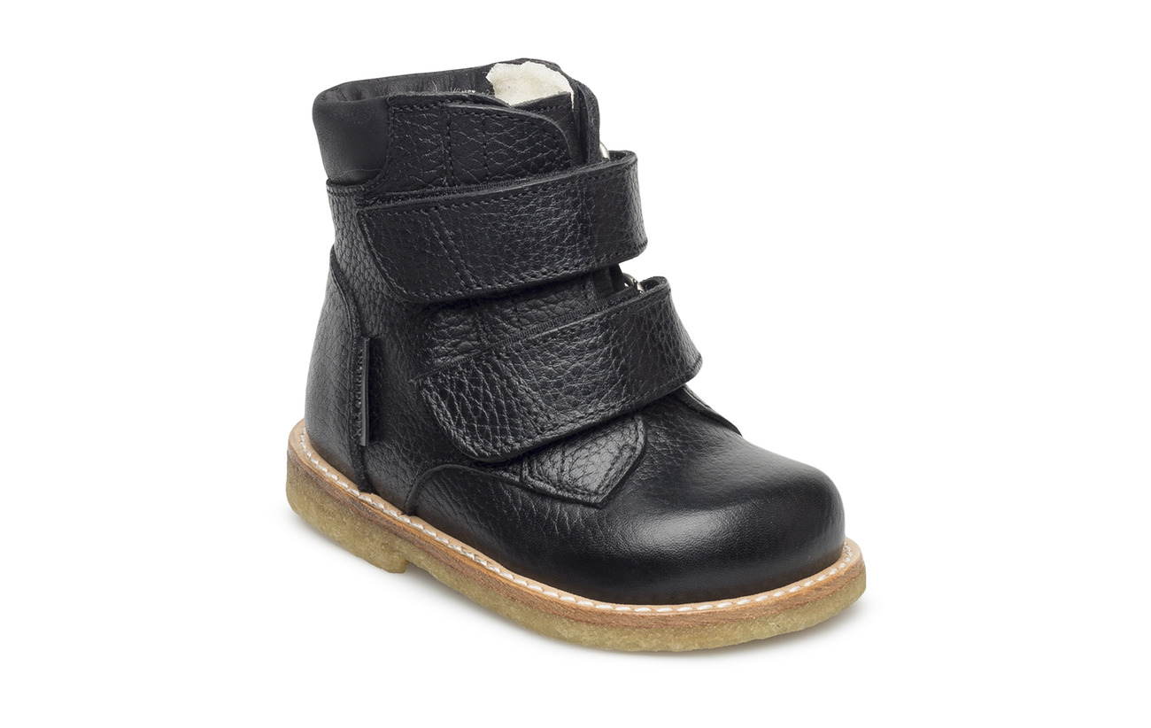 ANGULUS Boots - flat - with velcro - 2504/1652 BLACK/BLACK
