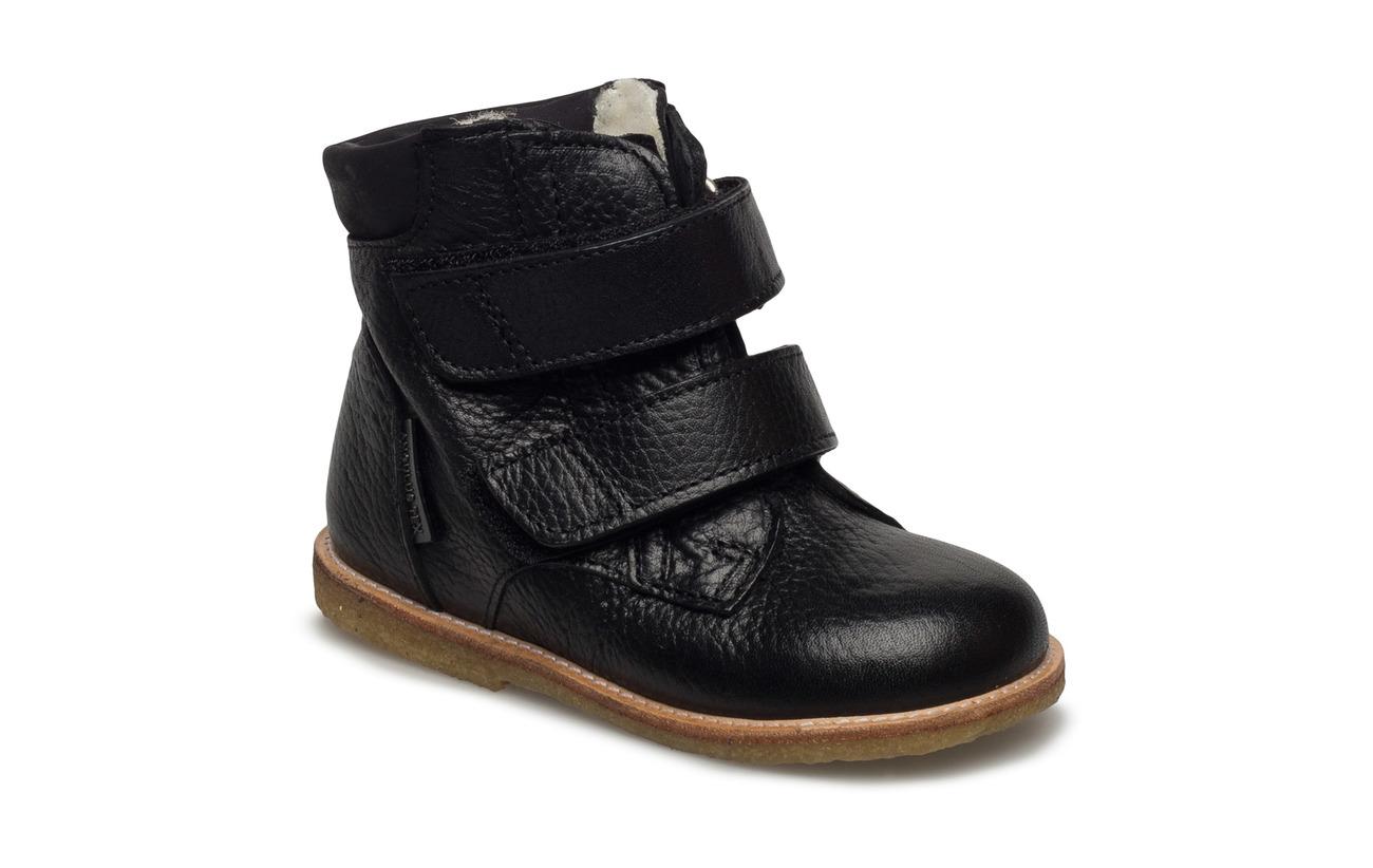 ANGULUS Boots - flat - with velcro - 2504/1652 BLACK/BLACK