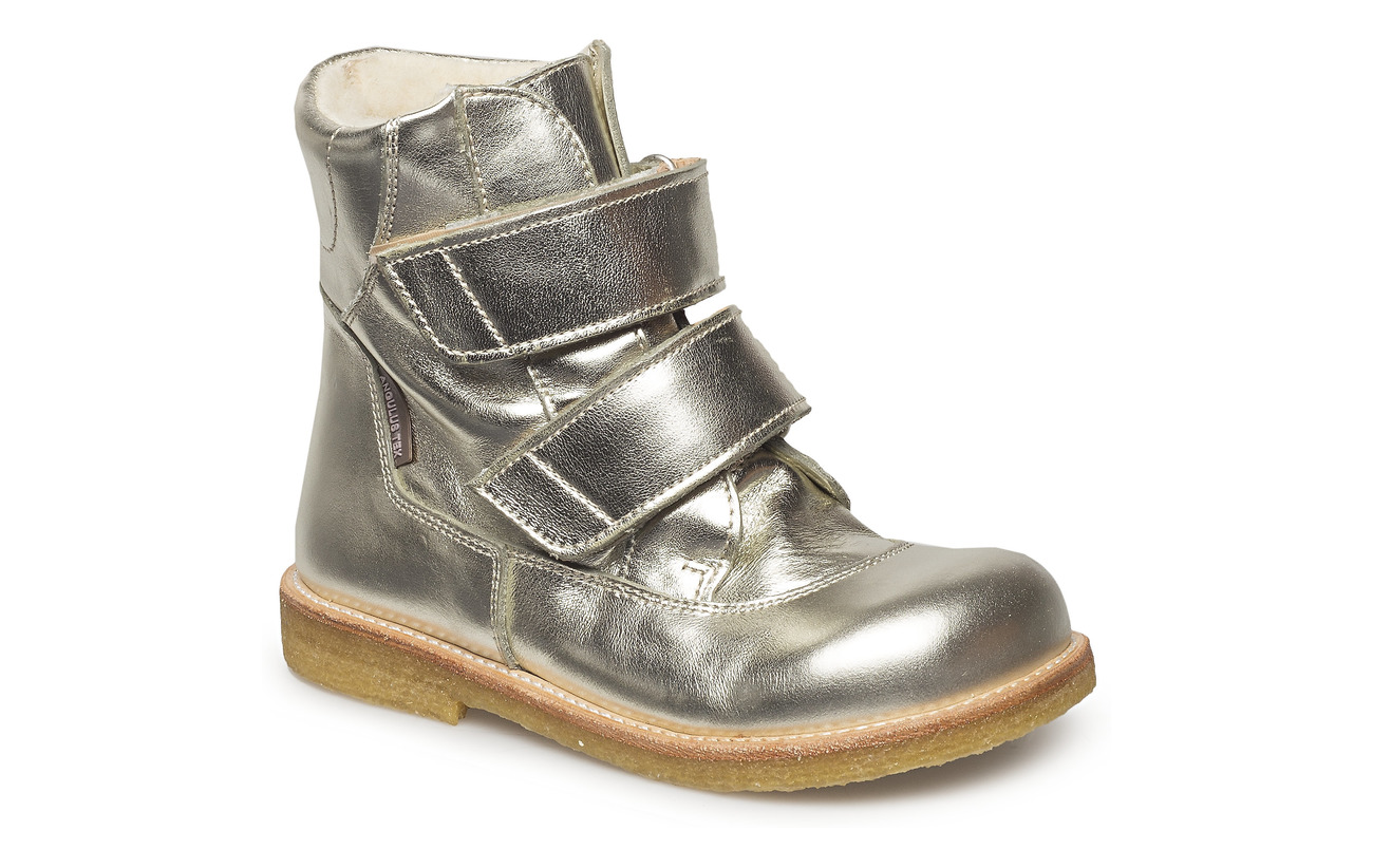 ANGULUS Boots - flat - with velcro - 1325 CHAMPAGNE