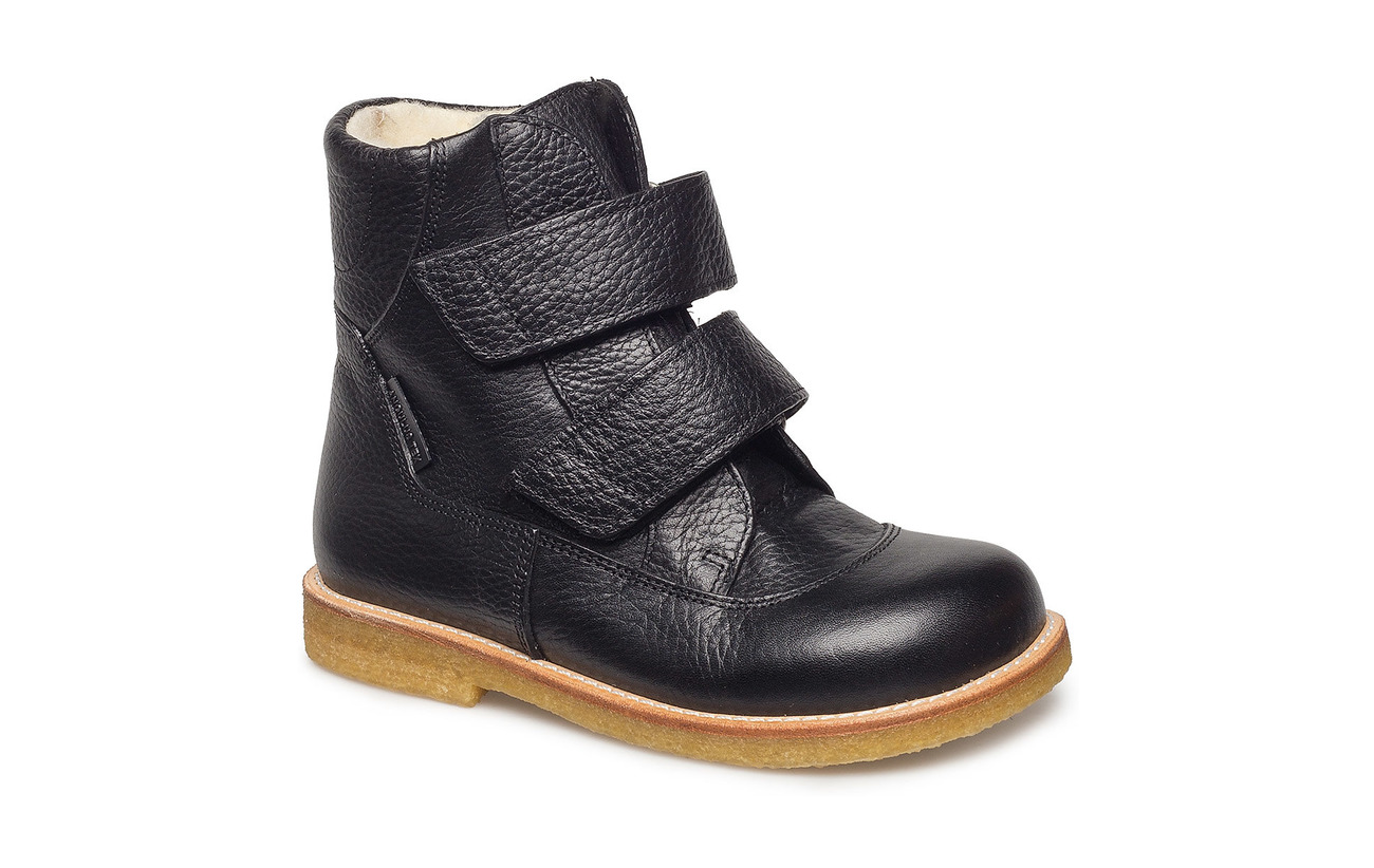 ANGULUS Boots - flat - with velcro - 2504 BLACK