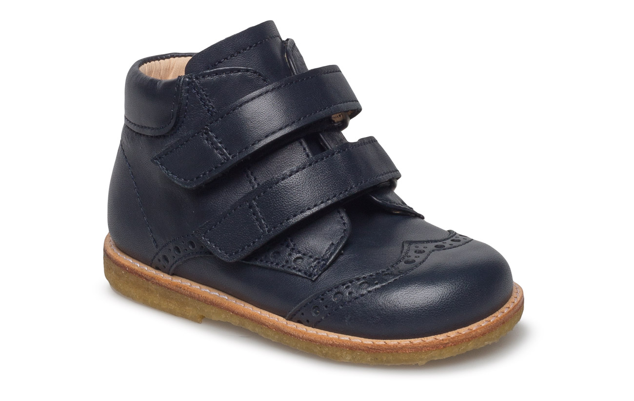 17fd8907ccf Shoes - Flat - With Velcro (1530 Navy) (519.35 kr) - ANGULUS ...
