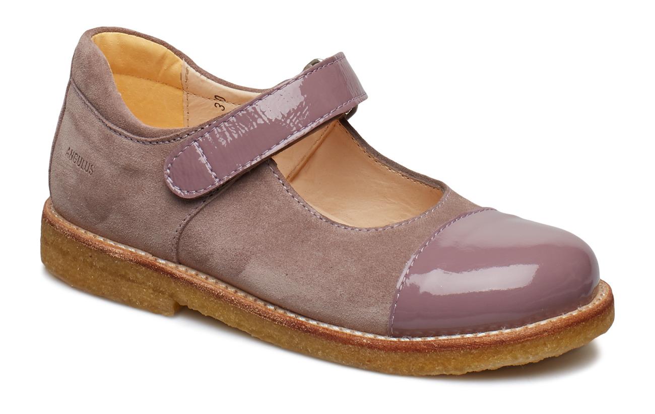 ANGULUS Shoes - flat - 1391/2202 FUCHSIA/LAVENDER