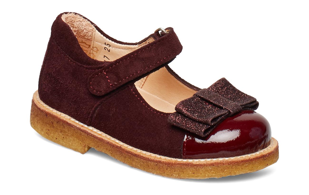 ANGULUS Dolly Shoe - 2348/2644/2195 DARK RED/BORDEA
