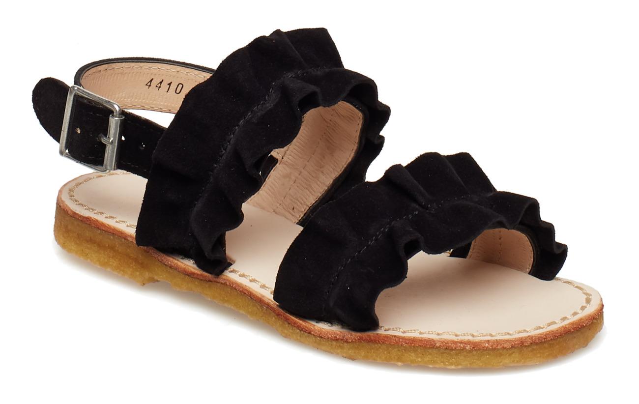 ea73e6ed327 Sandals - Flat (1163 Black) (£54) - ANGULUS - | Boozt.com