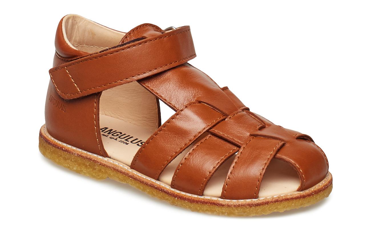 ANGULUS Baby sandal - 1431 COGNAC