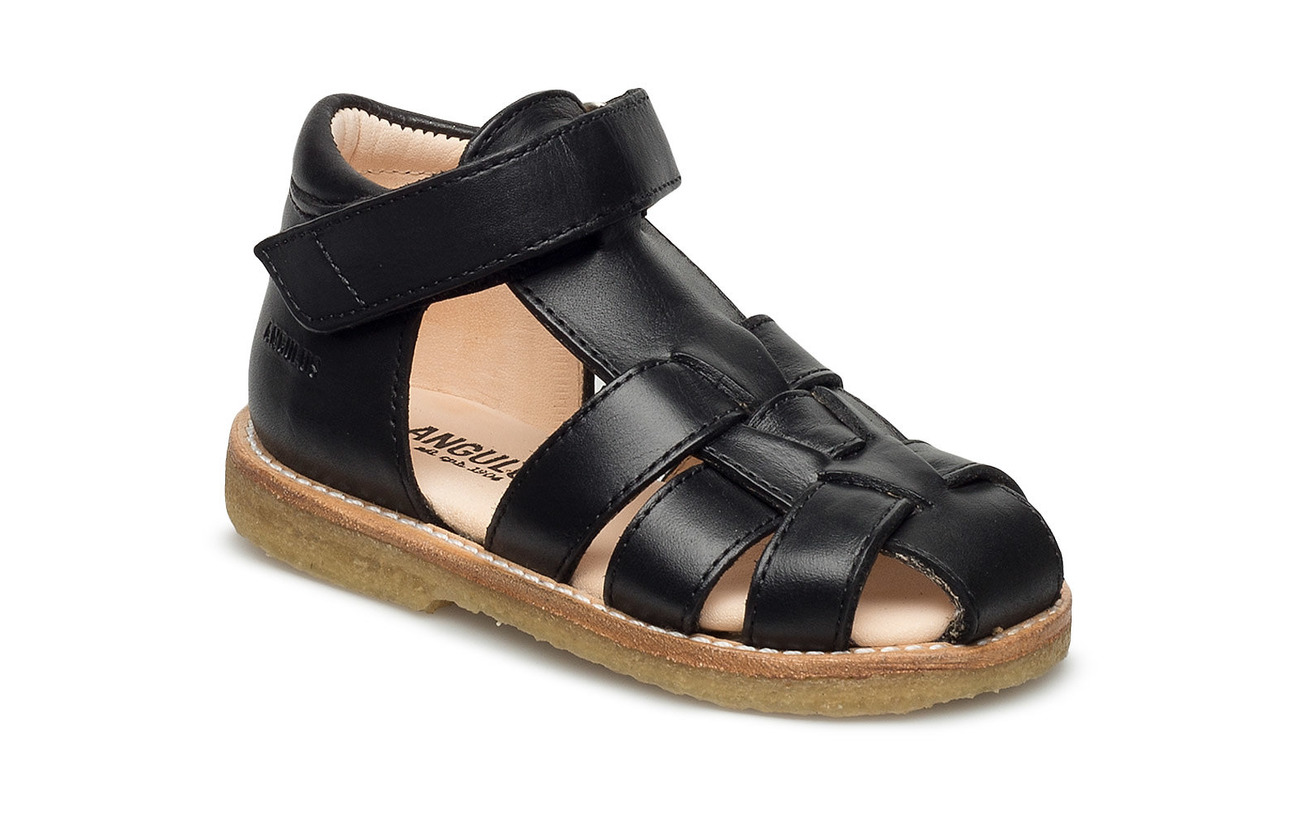 ANGULUS Baby sandal - 1604 BLACK