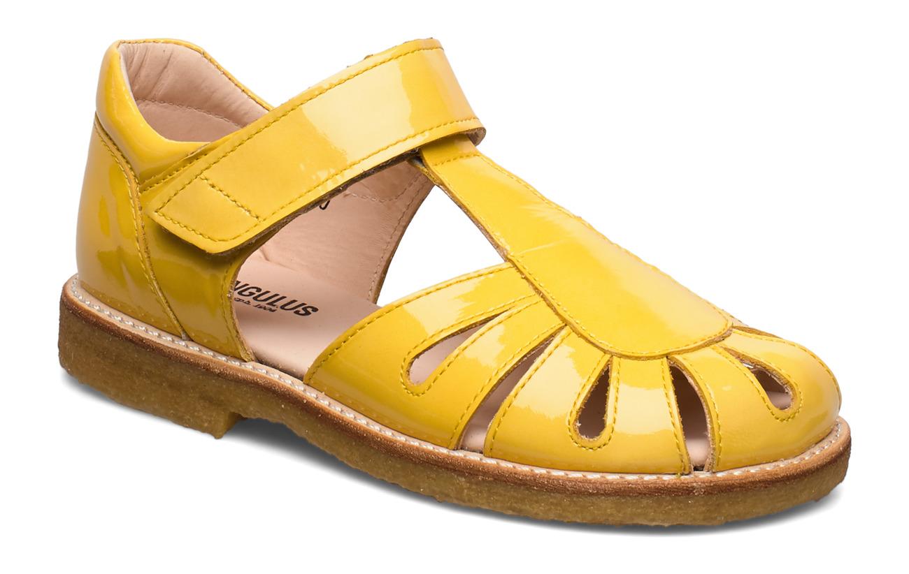 ANGULUS Sandals - flat - closed toe -  - 2339 YELLOW