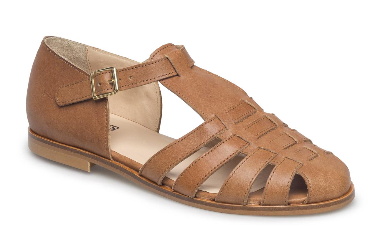 ANGULUS Sandals - flat - closed toe - op