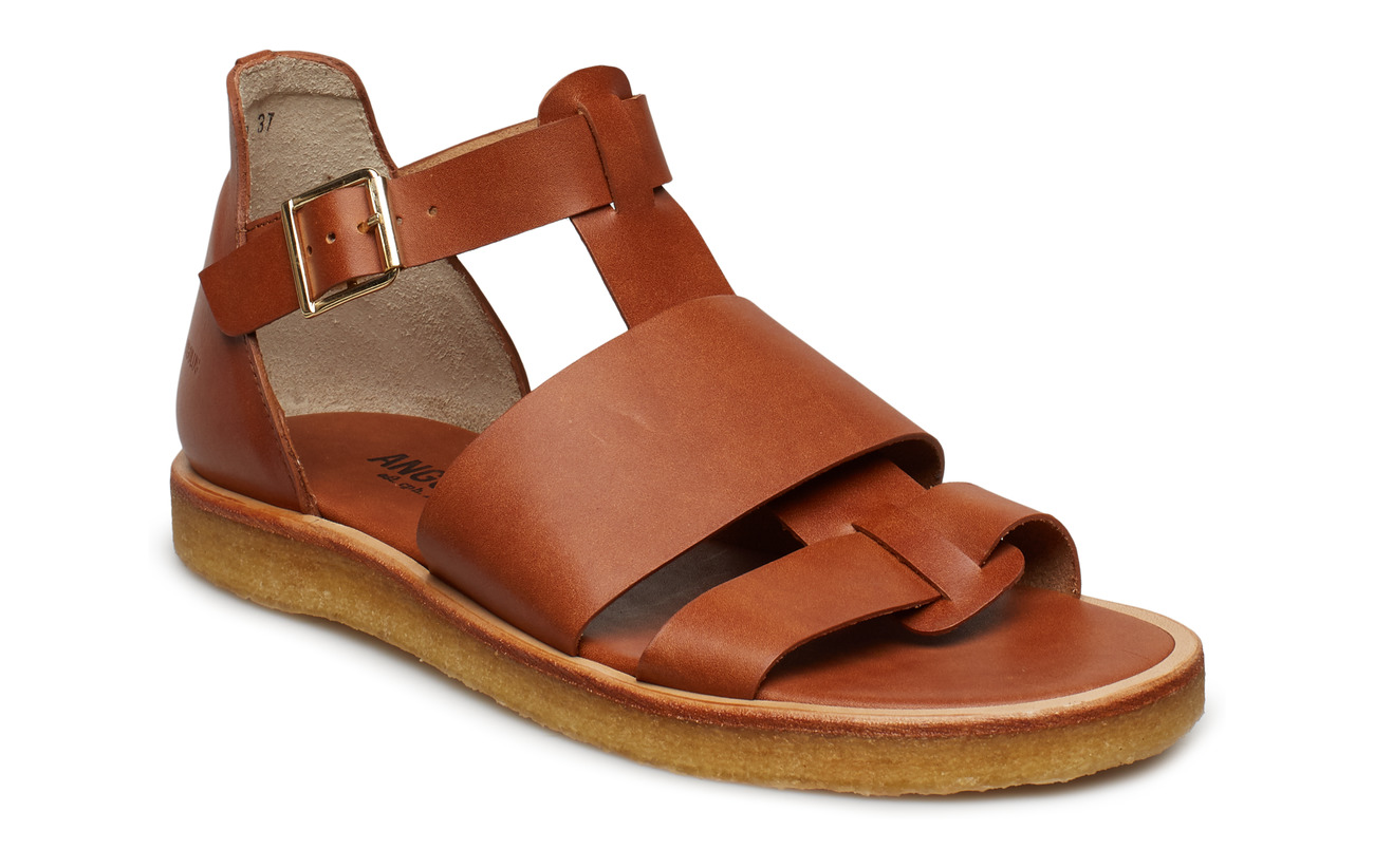 ANGULUS Sandals - flat - open toe - op - 1789 TAN