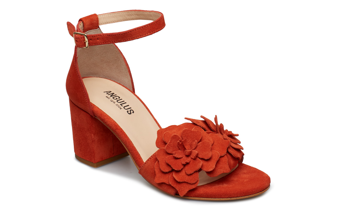 65c3940eafa Sandals - Block Heels - Open Toe (2200 Orange) (£190) - ANGULUS ...