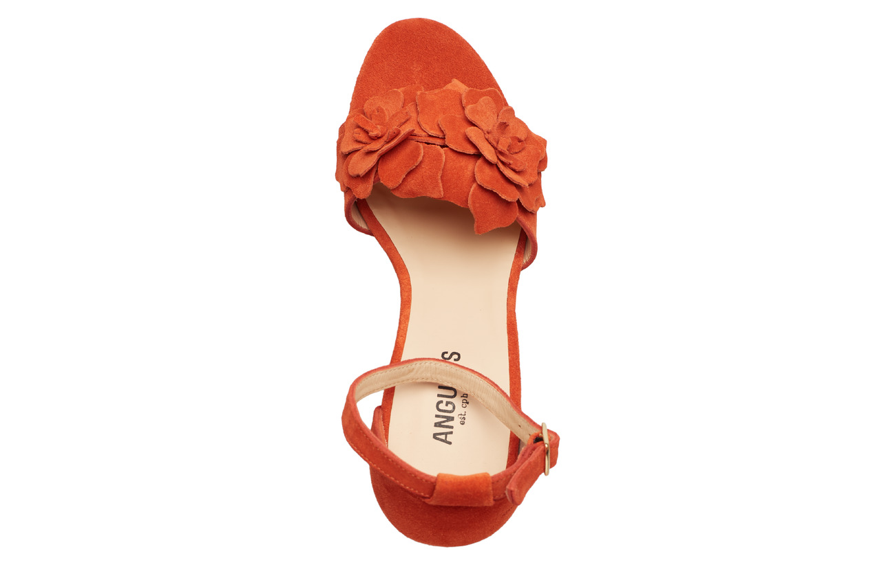 Heels Toe2200 SandalsBlock OrangeAngulus Open xeCoWBrd