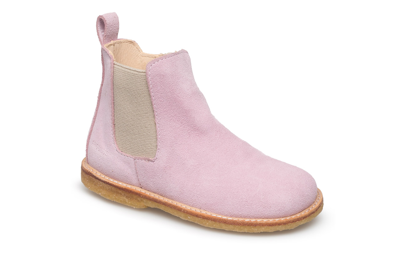 ANGULUS Booties - flat - with zipper