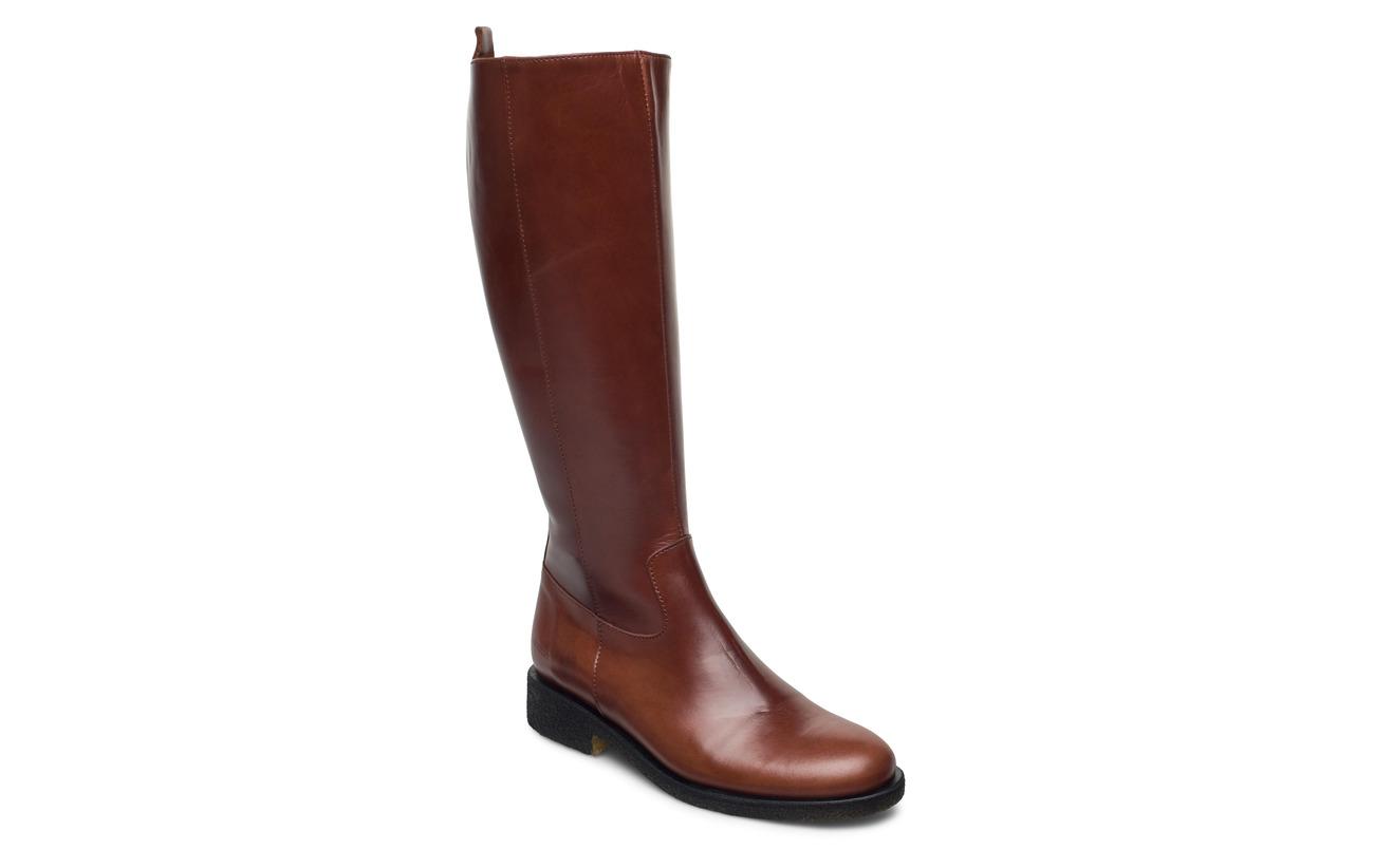 ANGULUS Long boot - 1837/002 BROWN/DARK BROWN