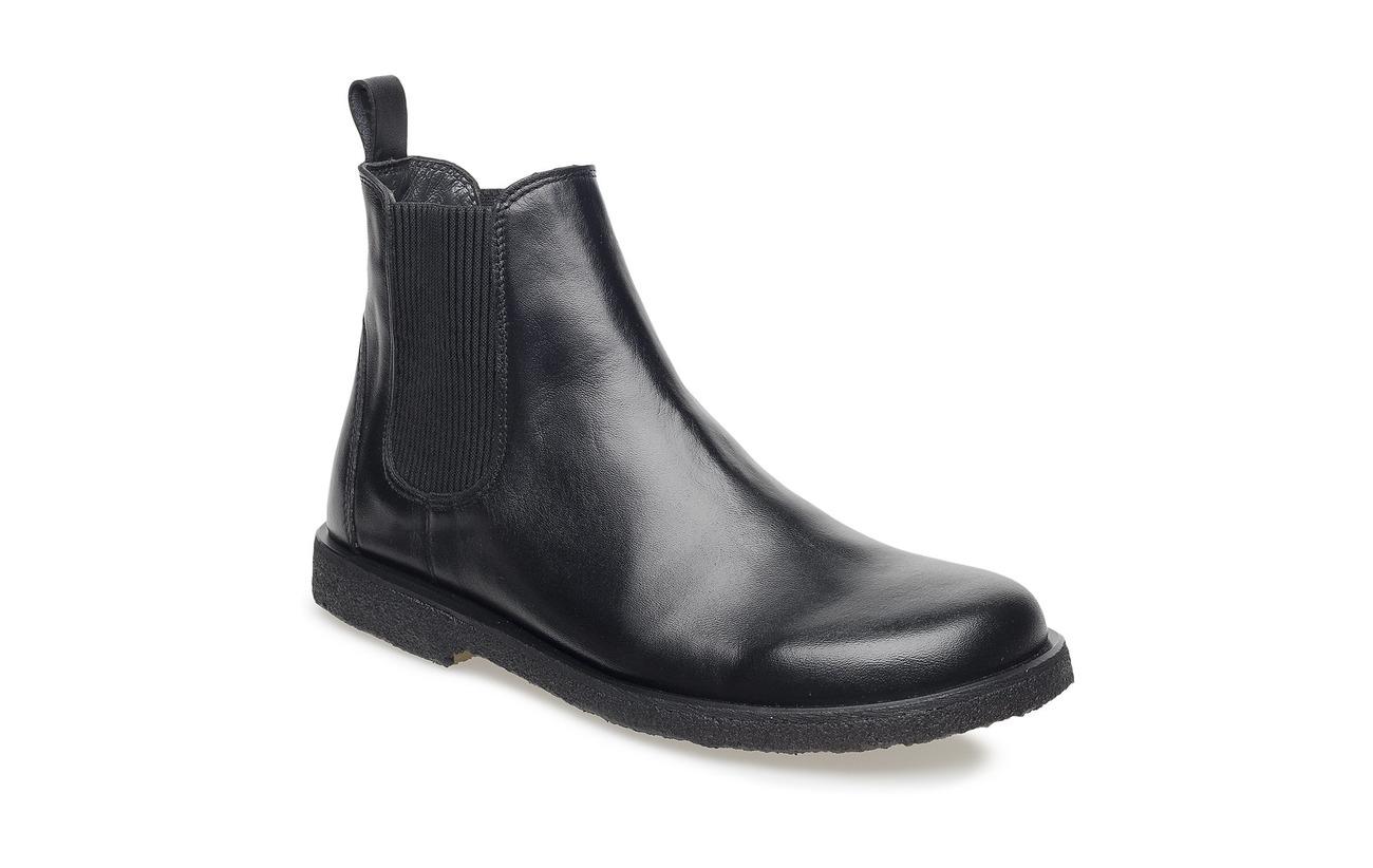 ANGULUS Booties-flat - with elastic - 1604/019 BLACK/BLACK