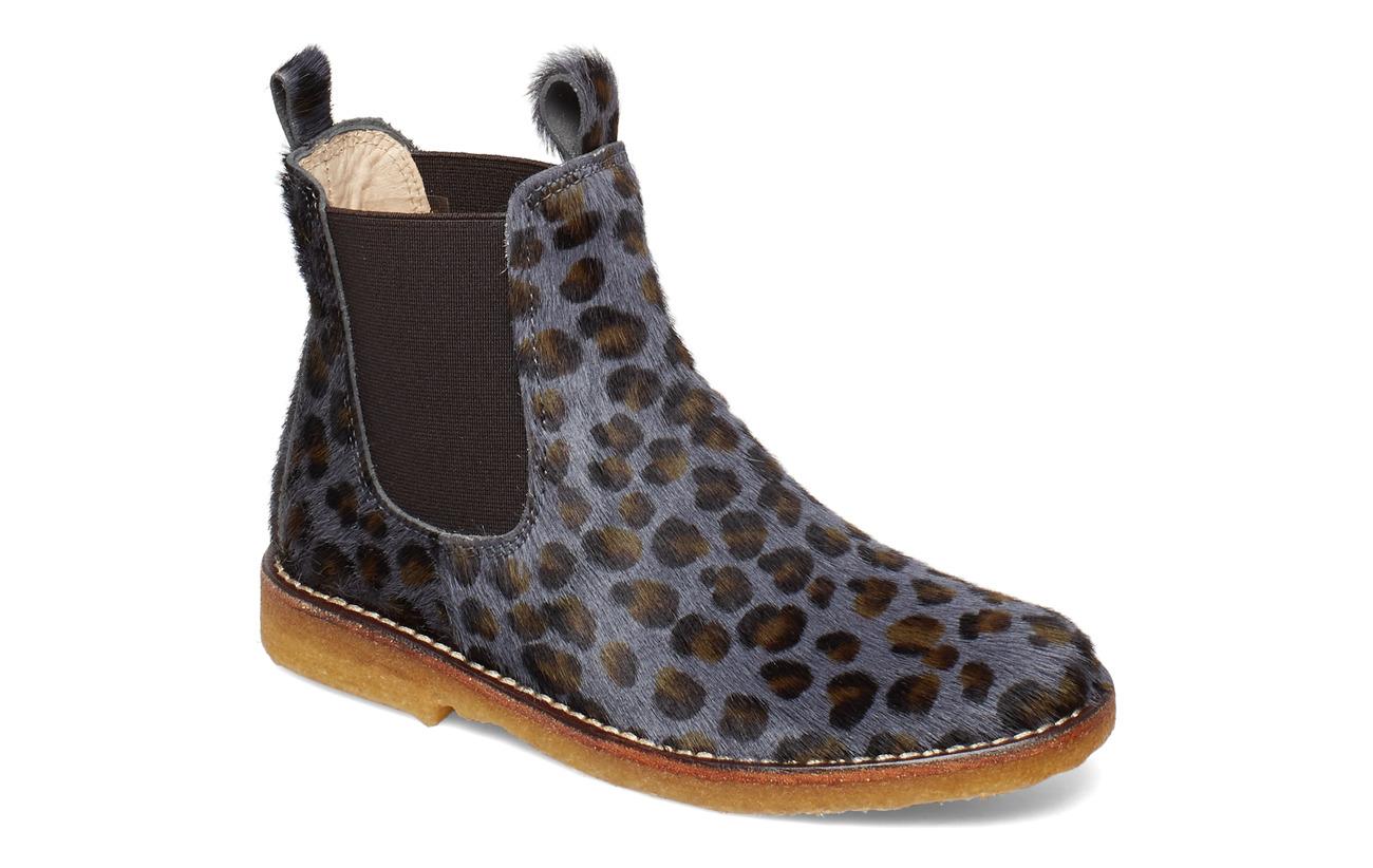 ANGULUS Chelsea boot - 1104/002 L.LEO PONY/BROWN