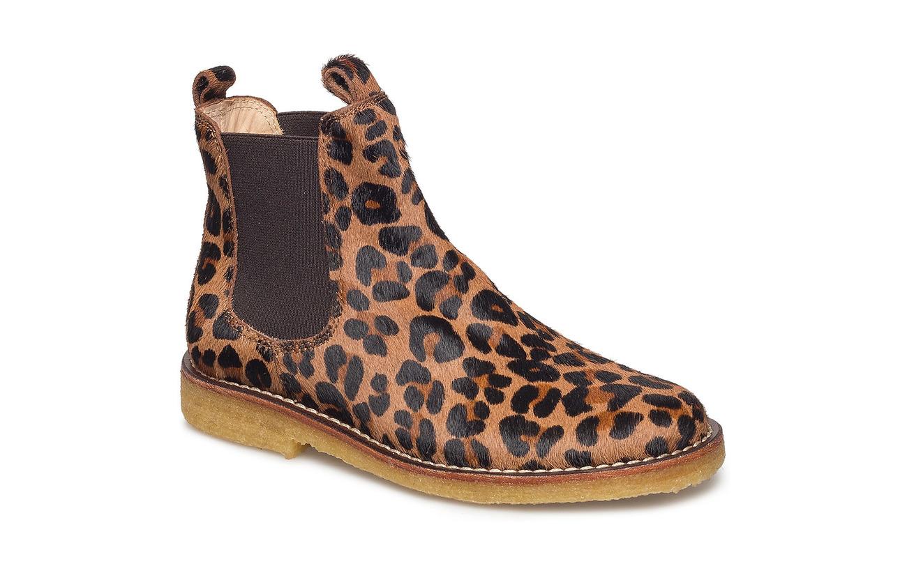 ANGULUS Chelsea boot - 1110/002 LEO PONY /BROWN