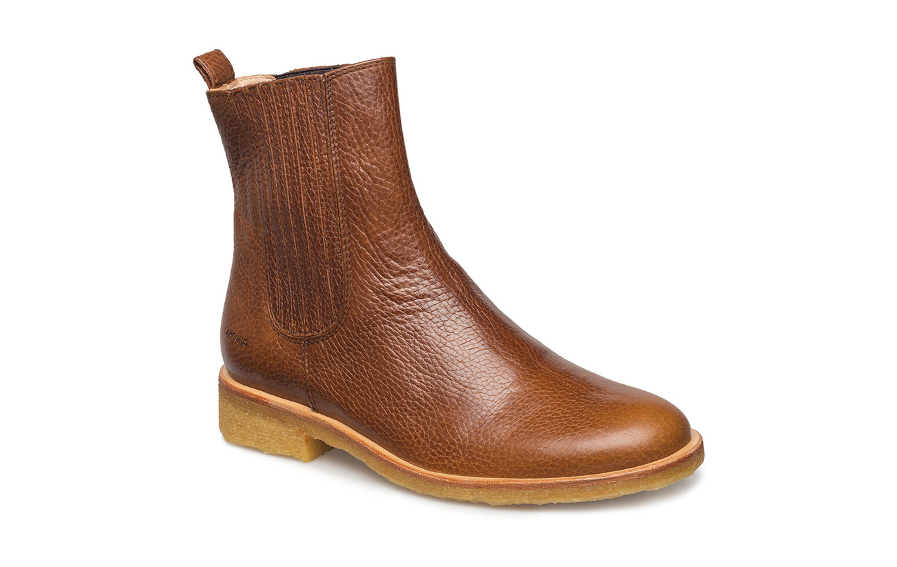 ANGULUS Chelsea Boot - 2509/002 MEDIUM BROWN/MEDIUM B