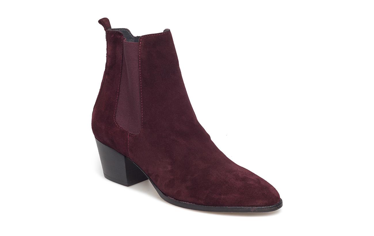 ANGULUS Booties - Block heel - with elas