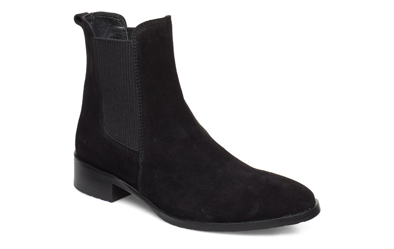 ANGULUS Booties - flat - with elastic - 1163/019 BLACK/BLACK