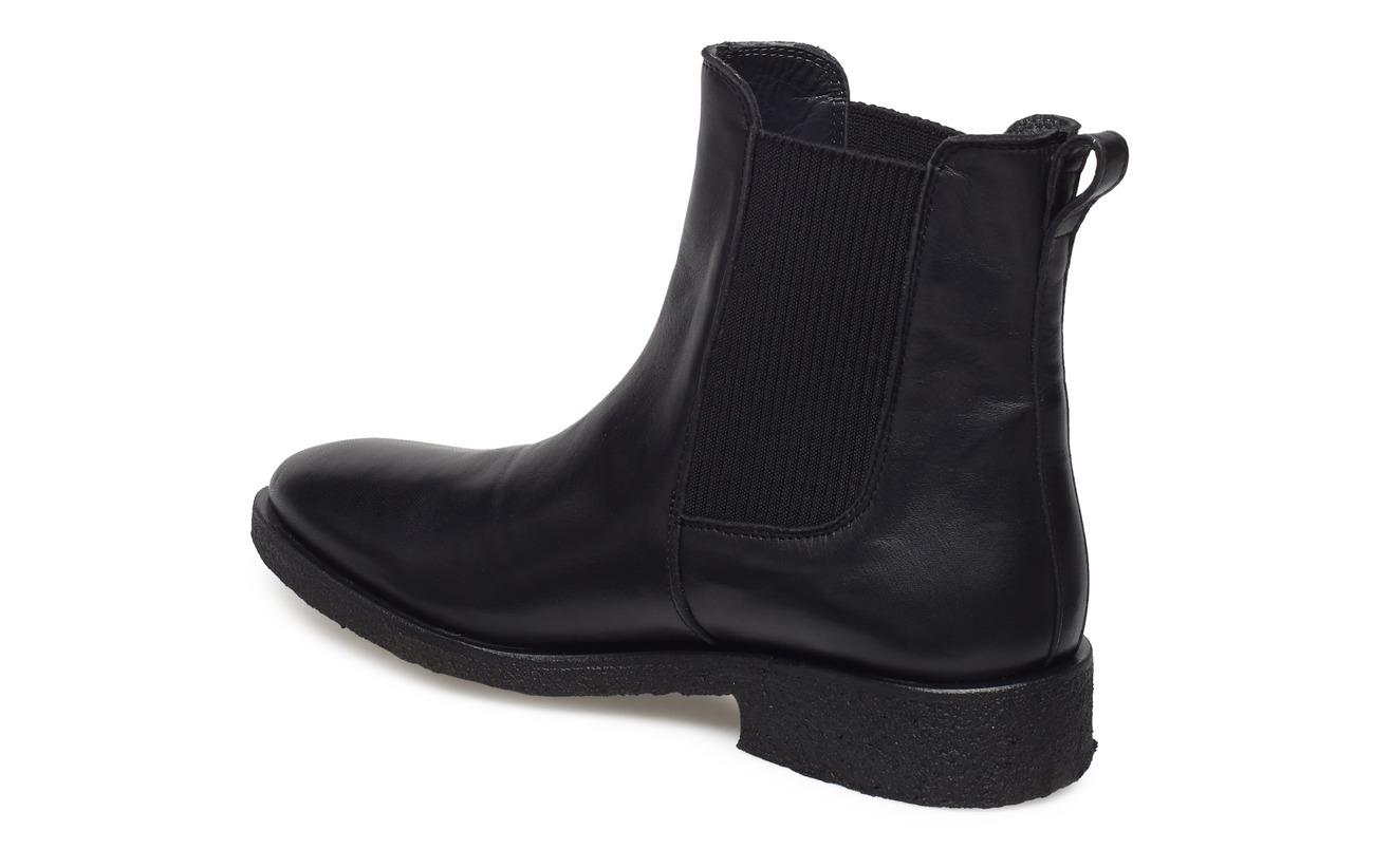 Extérieure Semelle 1400 black Intérieure Empeigne Elastic Patent Flat Supérieure Tunit Black 019 100 Angulus Cuir Doublure With Booties wCqZ1H1