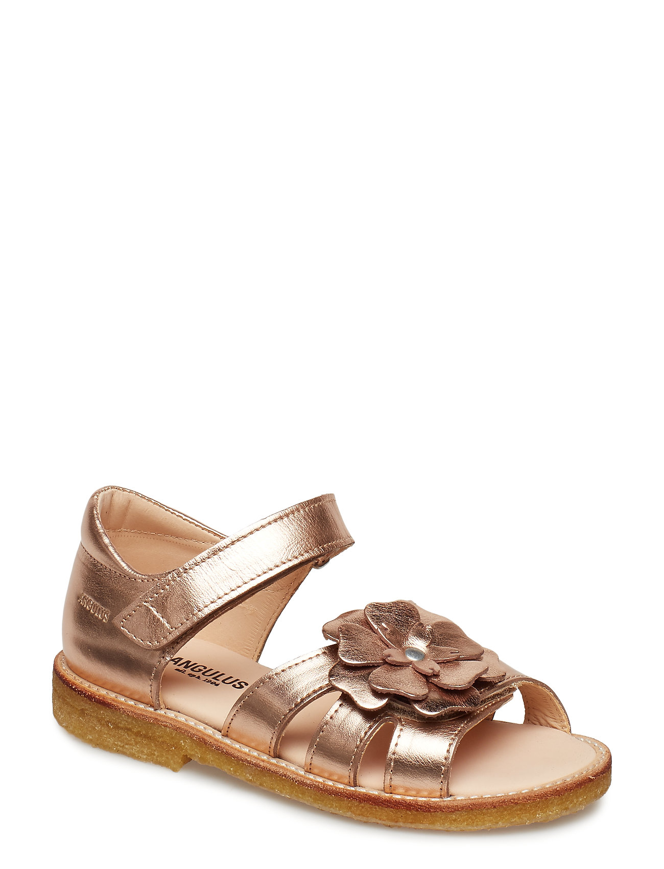 Image of Sandals - Flat - Open Toe - Clo Sandaler Guld ANGULUS (3249927567)