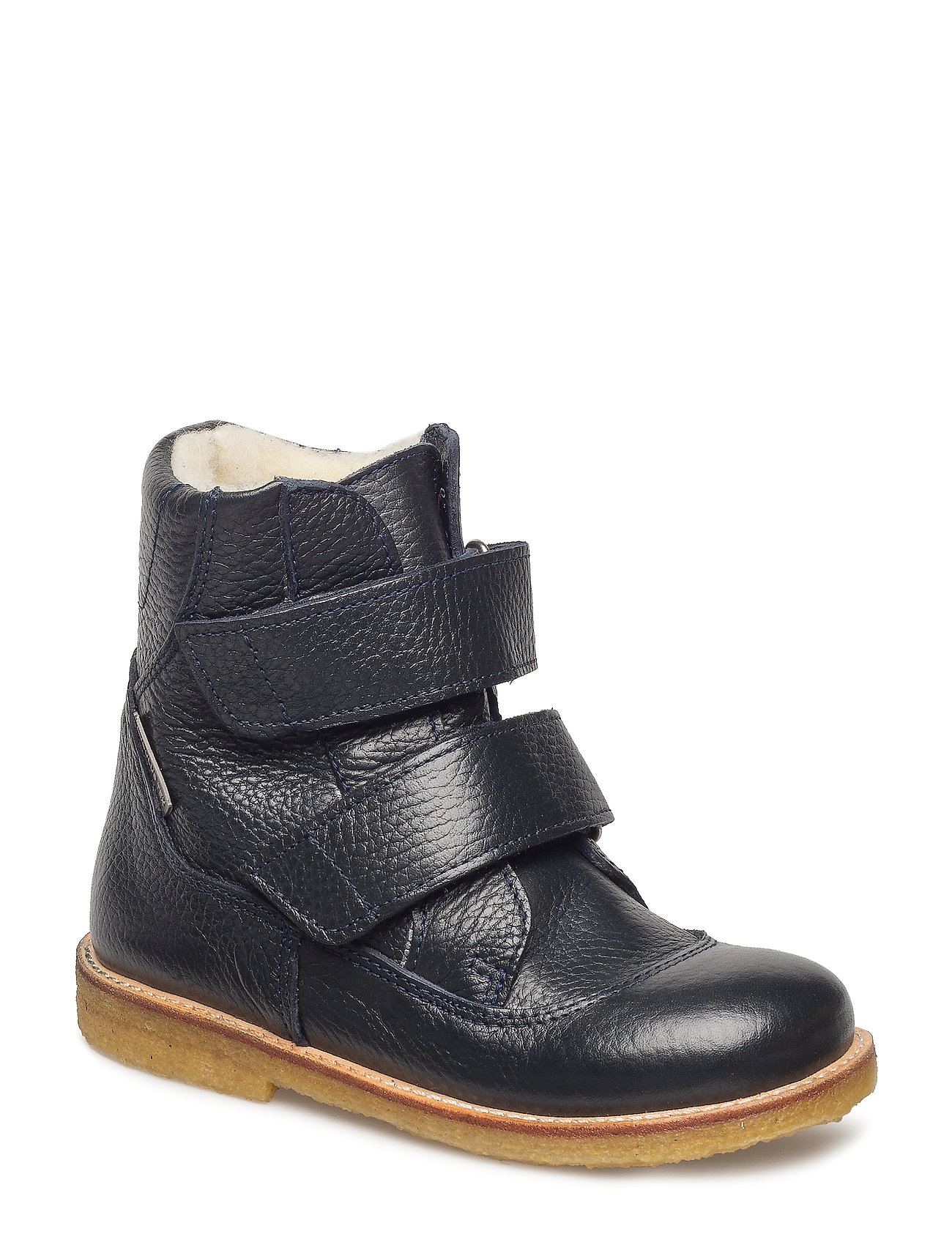 ANGULUS Boots - flat - with velcro - 1989 NAVY