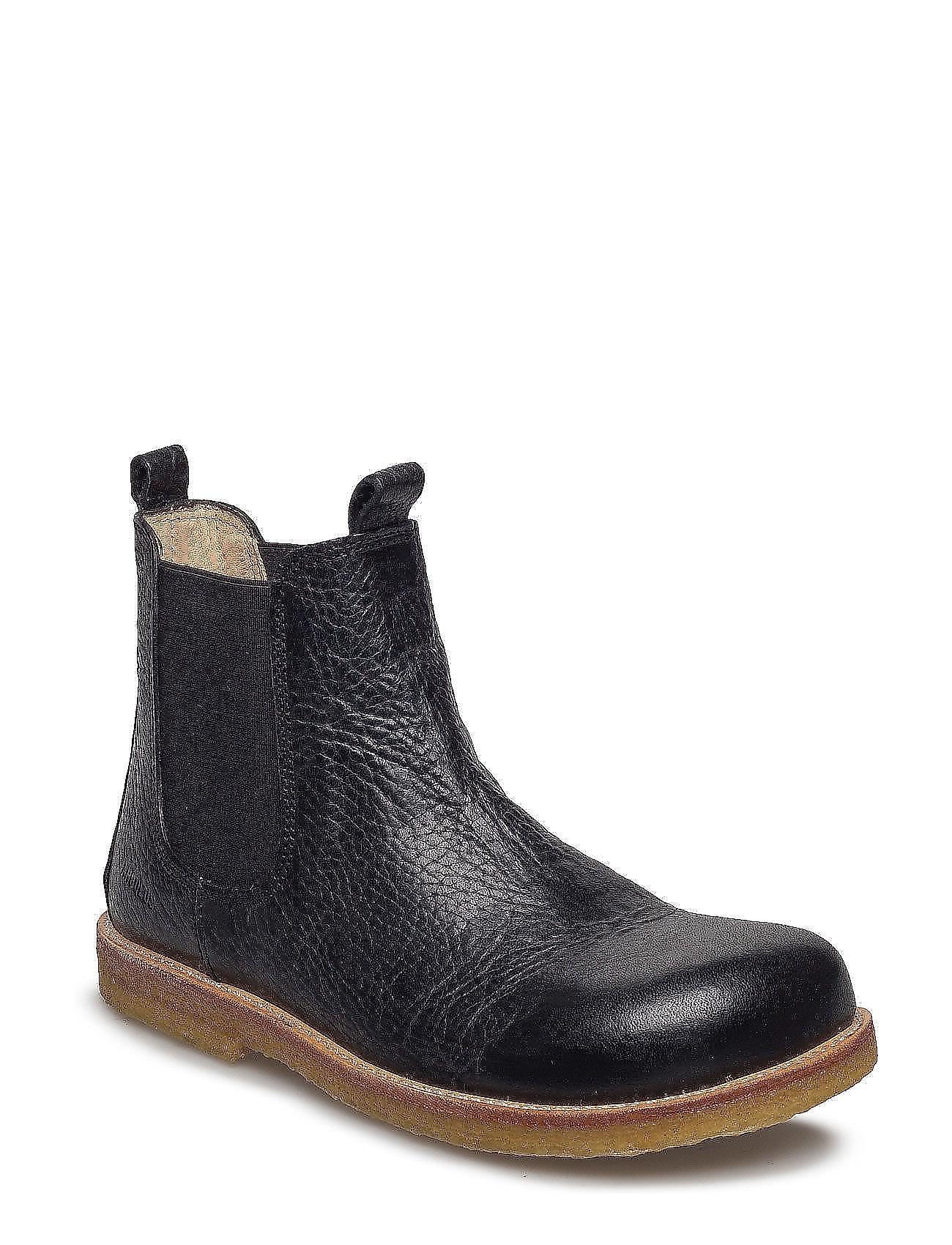 ANGULUS Chelsea boot - 1933/001 BLACK/BLACK